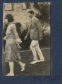 Julian Vinogradoff (née Morrell); T.S. Eliot, by Lady Ottoline Morrell - NPG Ax140845