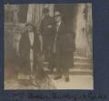 Dorothy Bussy (née Strachey); Simon Bussy; André Gide, by Lady Ottoline Morrell - NPG Ax140872
