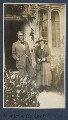 W.B. Yeats; Bertha Georgie Yeats (née Hyde-Lees), by Lady Ottoline Morrell - NPG Ax140876