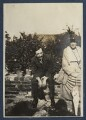 Simon Bussy; Dorothy Bussy (née Strachey), by Lady Ottoline Morrell - NPG Ax140897