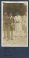 Gilbert Spencer; Sir Stanley Spencer; Julian Vinogradoff (née Morrell); Judith Masefield, by Lady Ottoline Morrell - NPG Ax140913