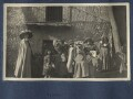 Lady Ottoline Morrell and local children, by Unknown photographer - NPG Ax141122