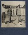 Frank James Prewett; Colin Gill; Walter Taylor, by Lady Ottoline Morrell - NPG Ax141196