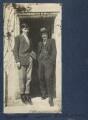 Frank James Prewett; Goldsworthy Lowes Dickinson, by Lady Ottoline Morrell - NPG Ax141288