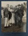 Jean de Menasce; Vanessa Bell (née Stephen); Duncan Grant; Eric Siepmann, by Lady Ottoline Morrell - NPG Ax141298
