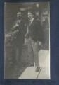 Lytton Strachey; Walter James Redfern Turner, by Lady Ottoline Morrell - NPG Ax141342