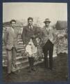 Colin de la Mare, Siegfried Loraine Sassoon; Frank James Prewett, by Lady Ottoline Morrell - NPG Ax141381