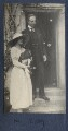 Julian Vinogradoff (née Morrell) with her dog 'Nutty'; Philip Edward Morrell, by Lady Ottoline Morrell - NPG Ax141386