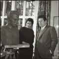 Fiore de Henriquez; Peter Ustinov, by Felix Fonteyn - NPG x127329