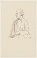 (William) Edward Hartpole Lecky, by Sir William Rothenstein - NPG D20878