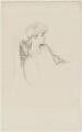 (Marion Margaret) Violet Manners (née Lindsay), Duchess of Rutland, by Sir William Rothenstein - NPG D20879