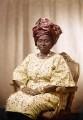 Hannah Idowu Dideolu Awolowo (née Adelana), by Bassano Ltd - NPG x171550