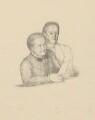 The Misses Gaskell (Margaret Emily Gaskell; Julia Bradford Gaskell), by Sir William Rothenstein - NPG D20891