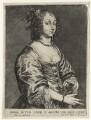 Mary (née Ruthven), Lady van Dyck, published by Frans van den Wyngaerde (Wijngaerde), after  Sir Anthony van Dyck - NPG D20906