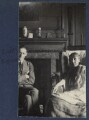 T.S. Eliot; Virginia Woolf, by Lady Ottoline Morrell - NPG Ax141652