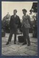 Walter James Redfern Turner; Mark Gertler, by Lady Ottoline Morrell - NPG Ax141715