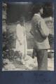Julian Vinogradoff (née Morrell); Mark Gertler, by Lady Ottoline Morrell - NPG Ax141729
