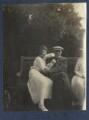 Julian Vinogradoff (née Morrell); Walter Taylor, by Lady Ottoline Morrell - NPG Ax141751