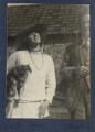 Julian Vinogradoff (née Morrell); L.P. Hartley, by Lady Ottoline Morrell - NPG Ax141768