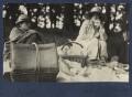 Mark Gertler; Julian Vinogradoff (née Morrell), by Lady Ottoline Morrell - NPG Ax141770