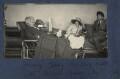 Harriette Morrell (née Wynter); Julian Vinogradoff (née Morrell); Mark Gertler, by Lady Ottoline Morrell - NPG Ax141776