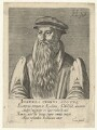 John Knox, by Hendrik Hondius (Hond), after  Adrian Vanson (van Son) - NPG D20939
