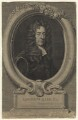 Edmund Waller, by George Vertue, after  Sir Godfrey Kneller, Bt - NPG D20962