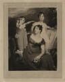 Lady Acland (Arthur Henry Dyke Acland; Lydia Elizabeth (née Hoare), Lady Acland; Sir Thomas Dyke Acland, 11th Bt), by Samuel Cousins, after  Sir Thomas Lawrence - NPG D7157