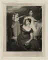 Lady Acland (Arthur Henry Dyke Acland; Lydia Elizabeth (née Hoare), Lady Acland; Sir Thomas Dyke Acland, 11th Bt), by Samuel Cousins, after  Sir Thomas Lawrence - NPG D7158