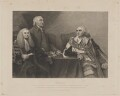 Junius, by G.F. Storm, printed by  S.H. Hawkins, published by  John Britton, after  Sir Joshua Reynolds - NPG D7400