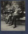 Harold Trevor Baker; Herbert Albert Laurens Fisher, by Lady Ottoline Morrell - NPG Ax141817