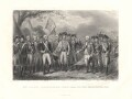 The British Surrendering their Arms to Gen. Washington, 1781, by James Stephenson, after  J.F. Renault - NPG D2212