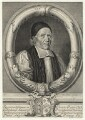 William Sancroft, by Robert White, after  Edward Lutterell (Luttrell) - NPG D20996
