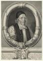 William Sancroft, by Robert White, after  Edward Lutterell (Luttrell) - NPG D20996