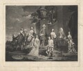 'Richard & Harriot Eliot, and all their Children, with Mrs. Goldsworthy & the Hon Captn. J. Hamilton', by Samuel William Reynolds, after  Sir Joshua Reynolds - NPG D1878