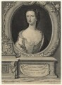 Sophia Carteret (née Fermor), Countess Granville, by George Vertue, after  Christian Friedrich Zincke - NPG D21012