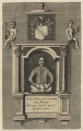 Monument to William Shakespeare in Holy Trinity Church, Stratford-upon-Avon, after Gerard Johnson - NPG D21014