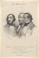 The Musical Union (Heinrich Wilhelm Ernst; Henri Vieuxtemps; Bernhard Molique), by Charles Baugniet - NPG D2117
