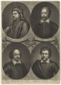 'Poets and Philosophers of England', by John Simon - NPG D3192