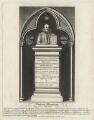 Monument to William Camden in Westminster Abbey, by John Thomas Smith - NPG D21098