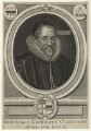 William Camden, by Robert White, after  Marcus Gheeraerts the Younger - NPG D21094