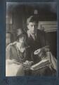 Juliette (née Baillot), Lady Huxley; Sir Julian Huxley, by Lady Ottoline Morrell - NPG Ax142025