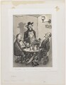 Antelope Tavern, 1929 (Bruce Blunt; Augustus John; Philip Arnold Heseltine (Peter Warlock)), by Anthony Wysard - NPG D306