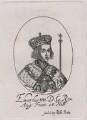 King Edward IV, published by Sir Robert Peake, probably after  William Faithorne - NPG D21044