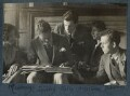Lady Ottoline Morrell with friends, possibly by Philip Edward Morrell - NPG Ax142029