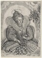 Queen Elizabeth I, by Francis Delaram, after  Nicholas Hilliard - NPG D21053