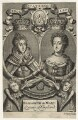 Queen Elizabeth I; Queen Mary II, by John Sturt, after  Unknown artists - NPG D21066