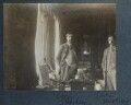 Lytton Strachey; L.P. Hartley, by Lady Ottoline Morrell - NPG Ax142091