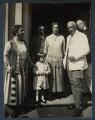 Wilhelm-Viktor von Ilsemann; Philip Edward Morrell and others, by Lady Ottoline Morrell - NPG Ax142143