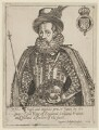 King James I of England and VI of Scotland, by Miss Woodin, after  Laurence Johnson - NPG D21101